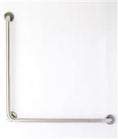 90 Degree Stainless Steel Grab Bar – 1.25″ dia., 30″ x 30″
