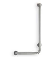 Angle Stainless Steel Grab Bar – 1.25″ dia., Peened Grip