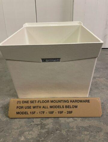 Mustee 24″x 20″ DURASTONE Laundry Tub. Floor Mount. – OPEN BOX