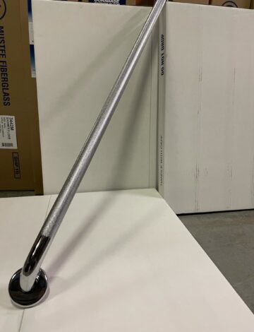 42″ Chrome Grab Bar. 1.25″ dia., Knurled Finish Grip