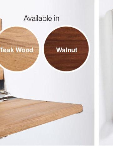 Life-Line Premier Flip-up Seats – Teakwood & Walnut