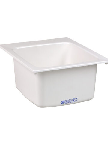 20″ x 17″ Drop-in Fibreglass Sink
