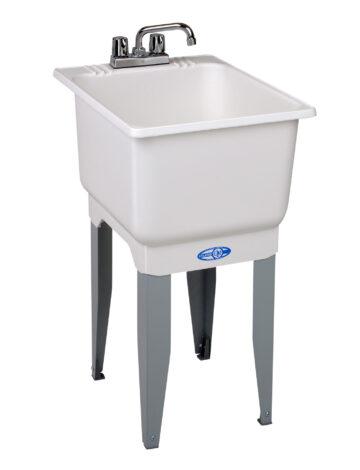 18″ Utilatub Laundry Tub Combo Kit