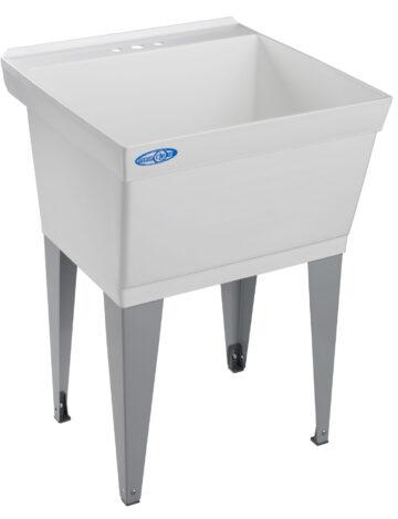 23″ Utilatub Laundry Tub – Floor Mount