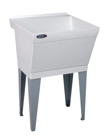 23″ Durastone Laundry Tub – Floor Mount