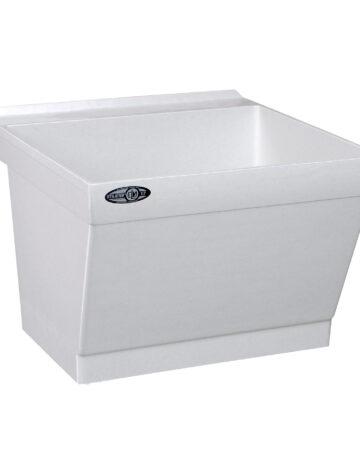 23″ Durastone Laundry Tub – Wall Mount