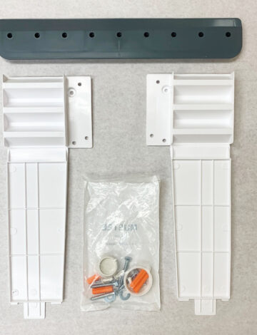 Wall Mounting Hardware for 15W, 18W, 19W