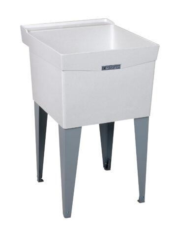 20″ Durastone Laundry Tub – Floor Mount