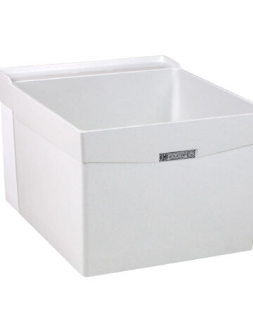 20″ Durastone Laundry Tub – Wall Mount