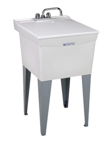 20″ Utilitub Laundry Tub Combo Kit