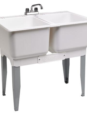 36″ Double Laundry Tub Combo Kit