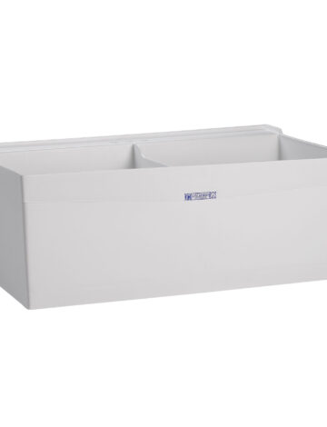 40″ Double Laudry Tub – Wall Mount