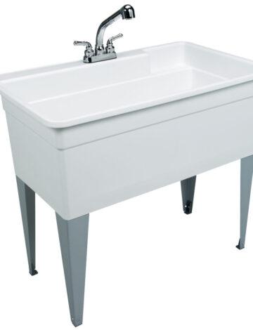 40″ BIG TUB Laundry Tub Combo Kit