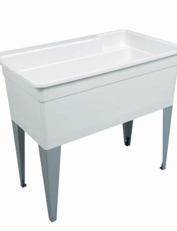 40″ BIG TUB Laundry Tub – Floor Mount