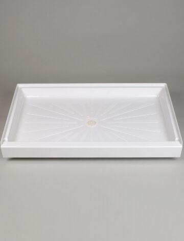 32″x 54″ Rectangular Shower Base – White