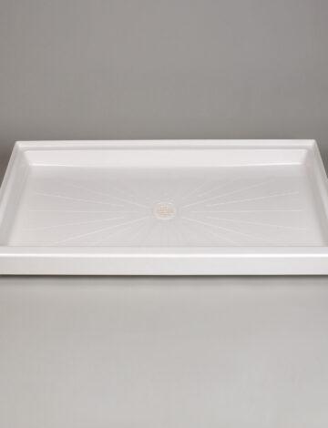 32″x 60″ Rectangular Shower Base – White