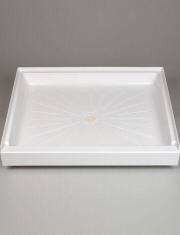 34″x 42″ Rectangular Shower Base – White