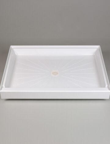 34″x 48″ Rectangular Shower Base – White