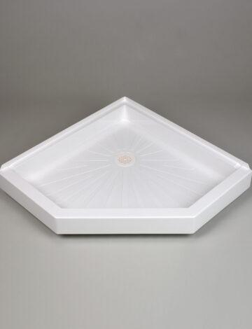 36″x 36″ Neo-Angle Shower Base –  White
