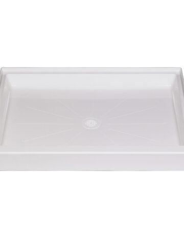 36″x 42″ Rectangular Shower Base – White