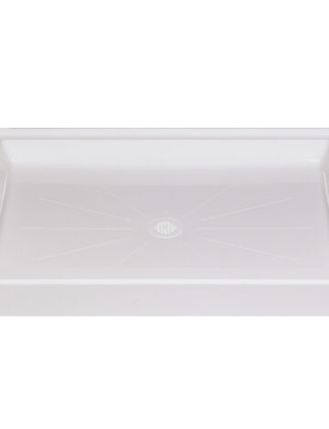 36″x 48″ Rectangular Shower Base – White