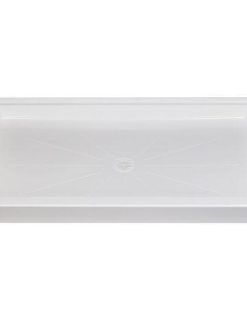 36″x 60″ Rectangular Shower Base – White