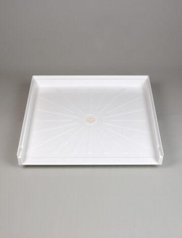 37″x 39″ Care-Giver Transfer-Floor,  Shower Base – White