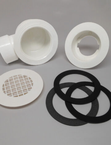 Side Outlet Drain Assembly for 2″ PVC
