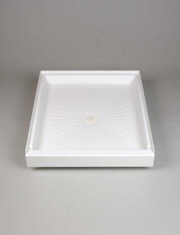 42″x 36″ Rectangular Shower Base – White