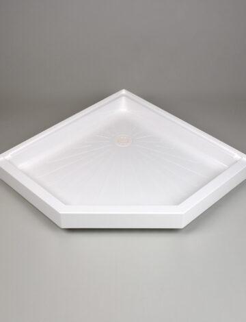 42″x 42″ Neo-Angle Shower Base –  White