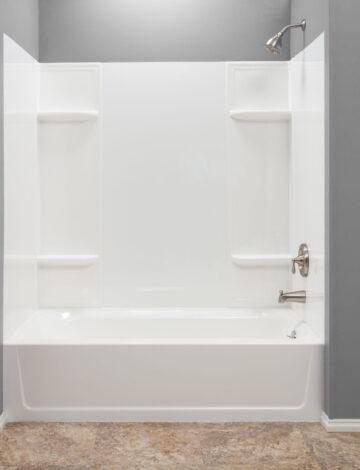Bathtub Wall System – White Thermoplastic