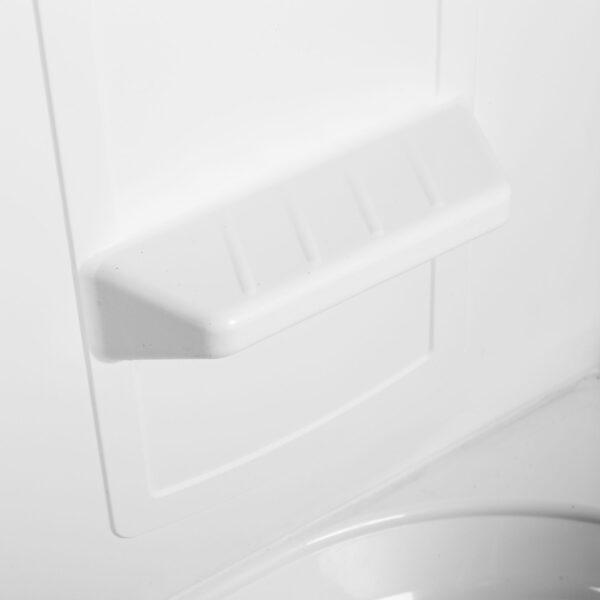 Molded Soap shelf.