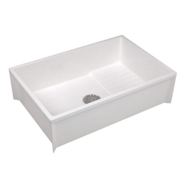 Rectangular Mustee sink.