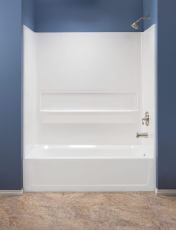 Premium Bathtub Walls – White Fibreglass, 30″x 60″