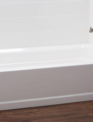 30″ x 60″ Bathtub – RH Drain, White Fibreglass