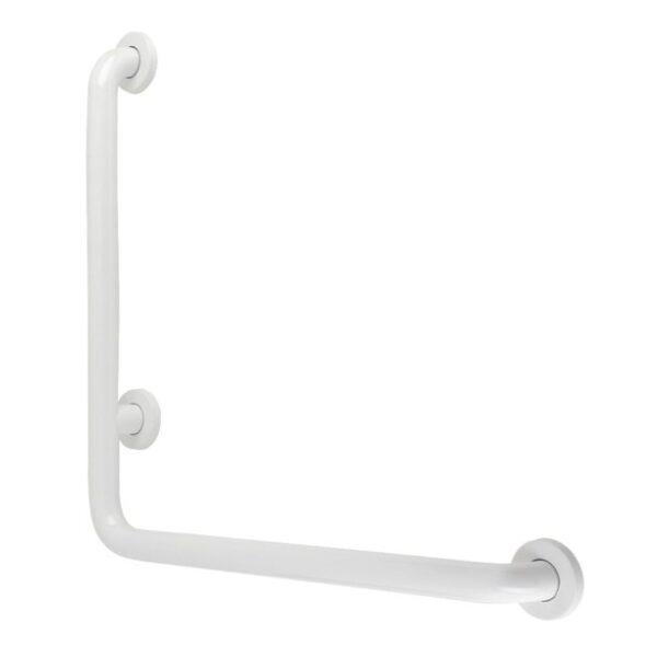 White angled rail.